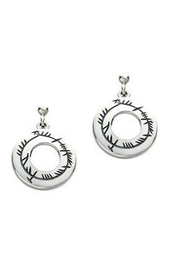 Sheila Fleet Ogham Drop Earrings ( E99 )  £107.00