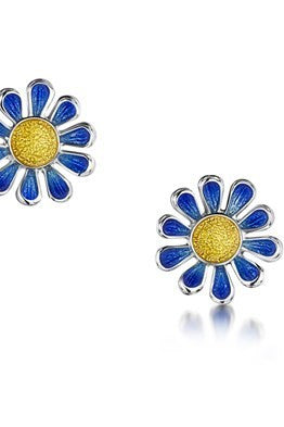 Sheila Fleet Coloured Daisies for Emily - Earrings