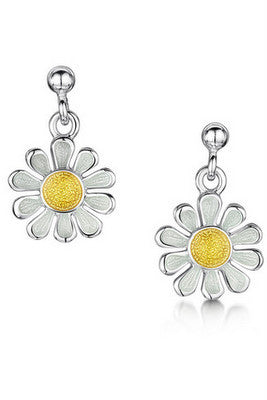 Sheila Fleet Daisies at Dawn Earrings £92.00