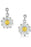 Sheila Fleet Daisies at Dawn Earrings £95.00