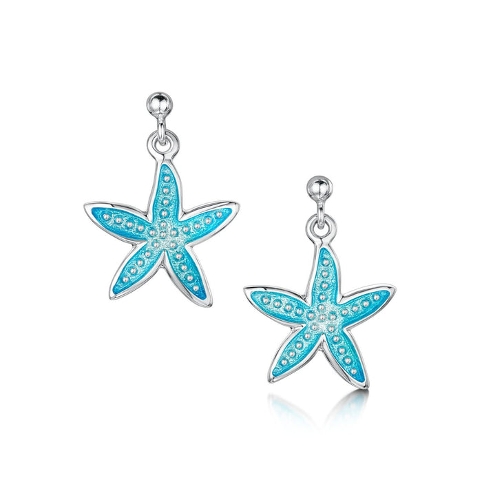 Sheila Fleet Starfish Drop Earrings in Shallows IN STOCK (  EEX251-SHAL )  £123.00