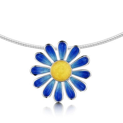 Sheila Fleet Coloured Daisies for Emily - Necklet