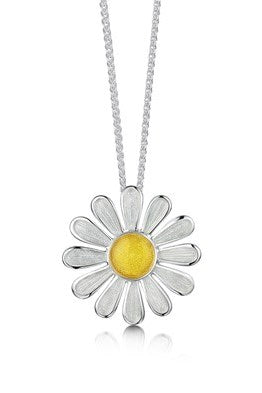 Sheila Fleet Daisies at Dawn Pendant £123.00