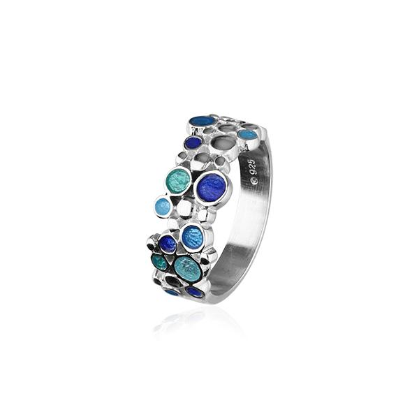 10% 0FF Ortak Dröfn Silver Ring ( ER114 ) WAS £87.00 NOW £78.30