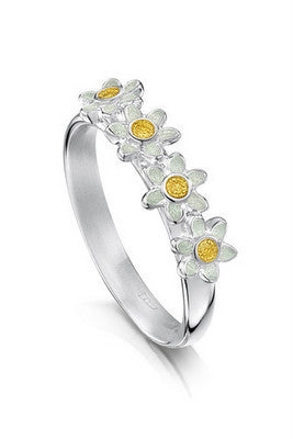 Sheila Fleet Daisies at Dawn Ring ( ER235 )  £100.00