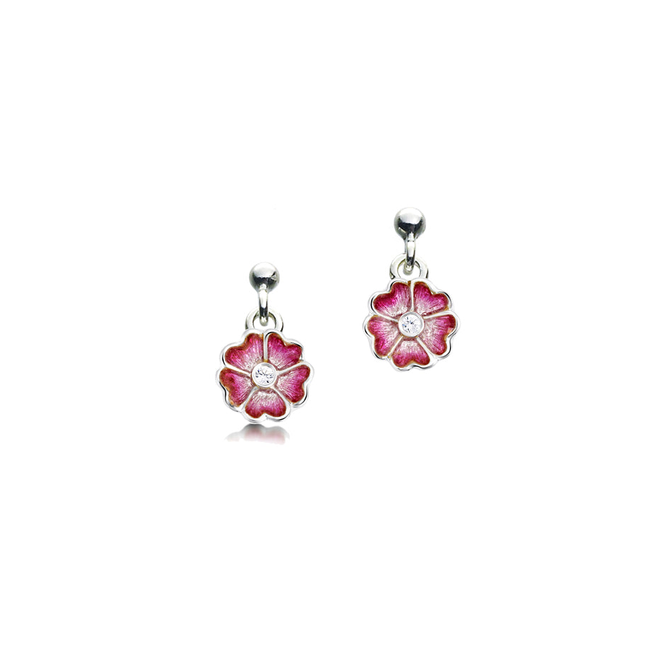 Sheila Fleet Primula Scotica Drop Earrings £89.00