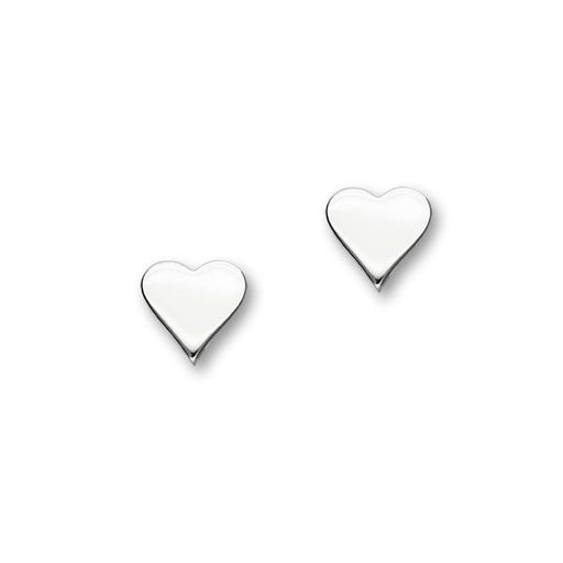 Ortak Heart Silver Earrings ( E1871 ) £29.00