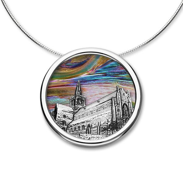 10% 0FF Ortak St Magnus Cathedral Glass Window Necklet WAS £251.00 NOW £225.90