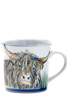 15% OFF Highland Stoneware Highland Cow Mug - 1 Pint was £44.95 now £38.20