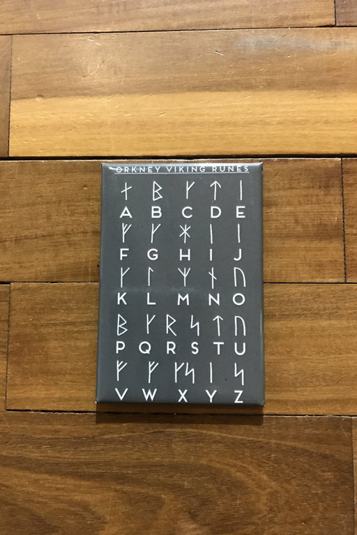 15% OFF Judith Glue 'Orkney Viking Runes' Magnet in Grey was £3.95 now £3.35