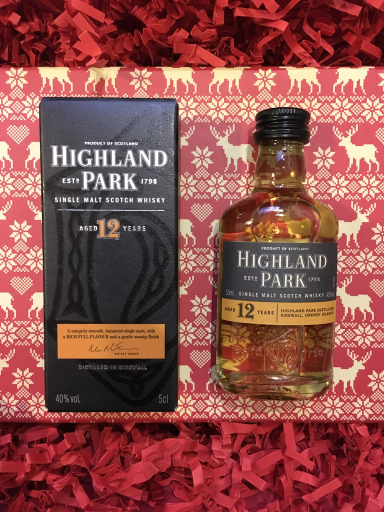 Orkney Christmas Highland Park Whisky Presentation Box - Code 17/B21