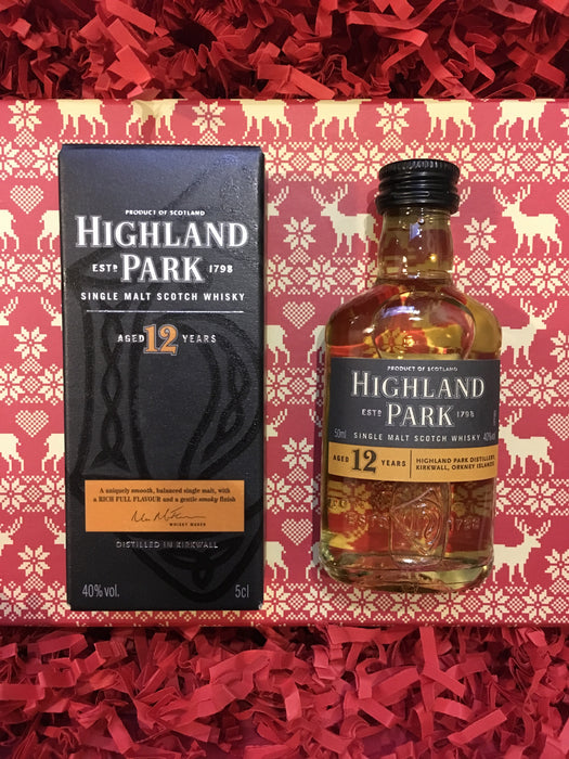 Highland Park Whisky Christmas Box £59.95 code 18