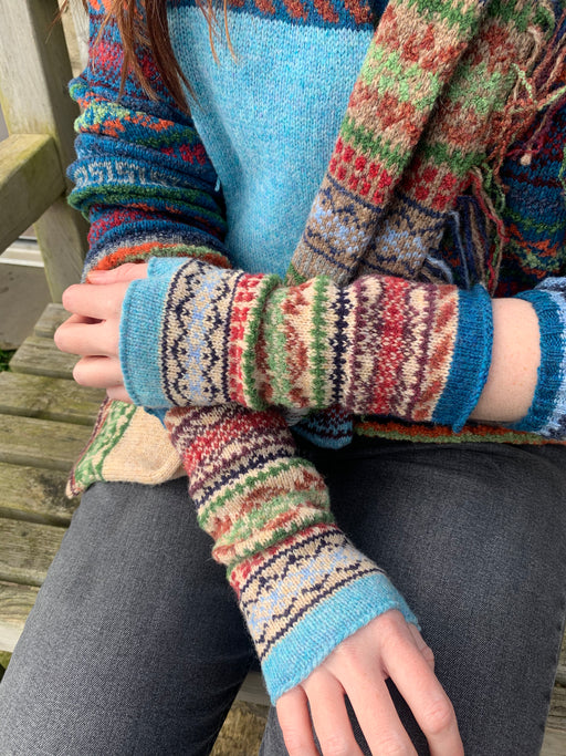 15% OFF Rackwick Fair Isle Shorelines Mitts WERE £35.00 NOW £29.75