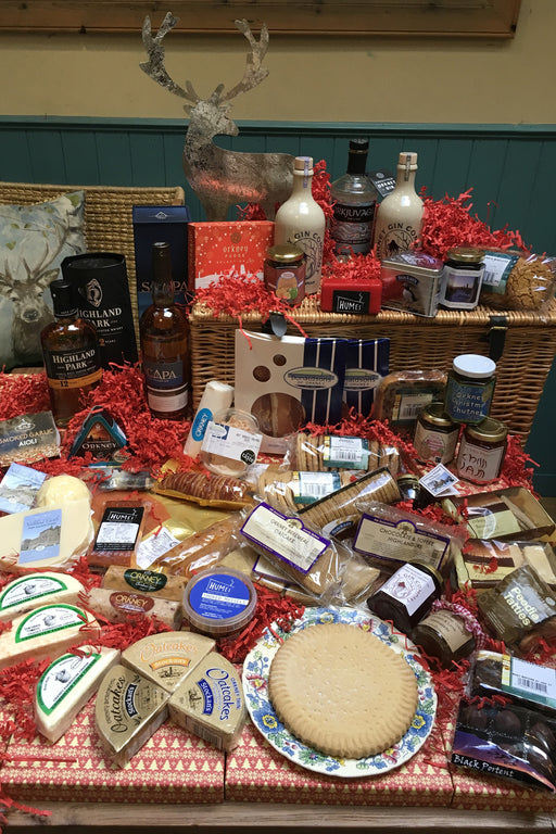 "The Orkney 24"" Large Deluxe Selection Christmas Hamper £299.00 Codes 32 - 38"