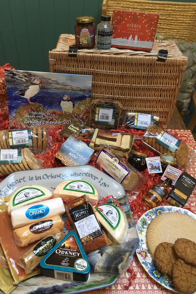 "The Orkney Family 18"" Selection Hamper £199.95 code 30 or Box £149.95 code 31"
