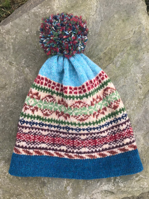15% OFF Rackwick Fair Isle Pom Pom Hat WAS £45.00 NOW £38.25