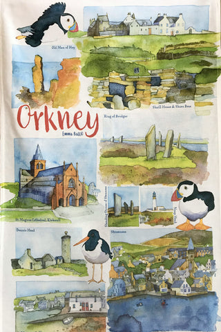 Emma Ball 'Orkney' Wall Clock £24.95