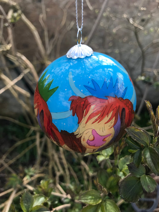 Highland Cow Christmas Bauble  £12.95