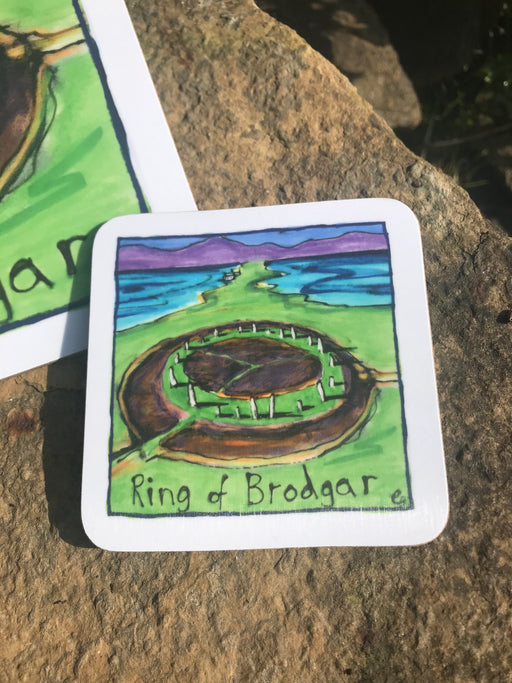 Ring of Brodgar Coaster £3.95