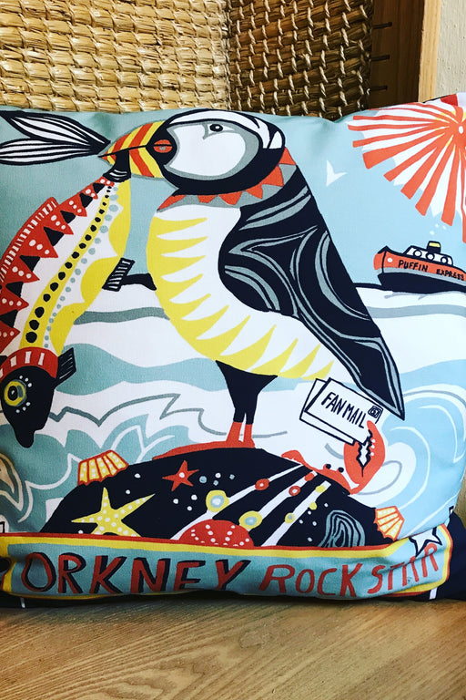 Port and Lemon Orkney Rock Star Puffin Cushion £39.95