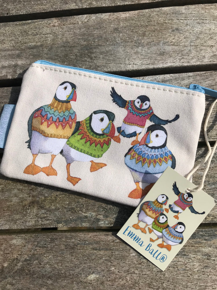 Woolley Puffin Zip Coin Purse £7.95