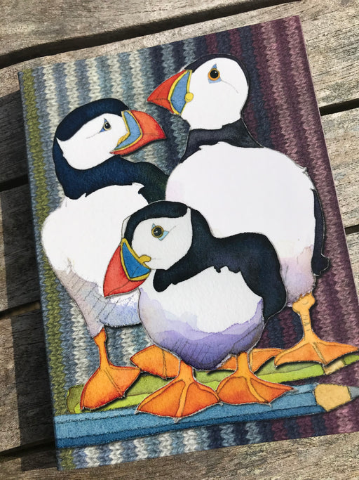 Puffin Lined Notebook £8.95