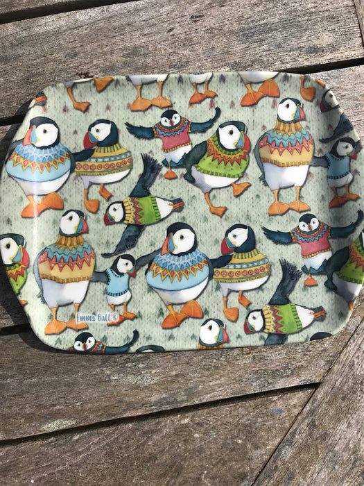 Emma Ball Woolly Puffin Mini Tray £5.95