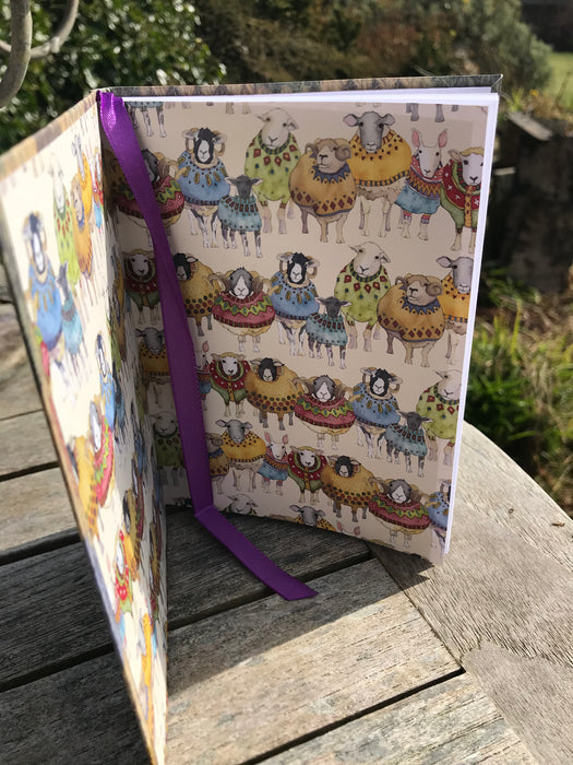Woolley Sheep Notebook £8.95