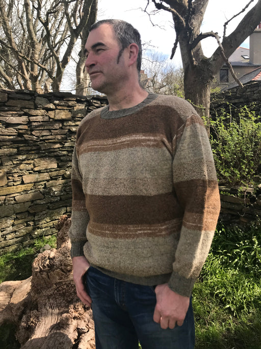 30% OFF Orkney View Crewneck Sweater in Shorelines WAS £139.95 NOW £98.95
