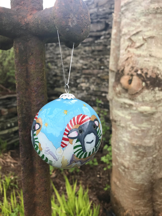 Woolley Sheep Christmas Bauble  £12.95