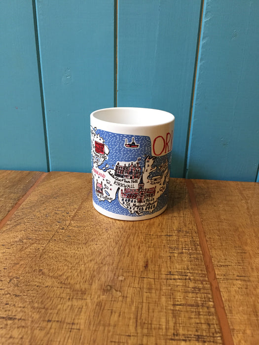 15% OFF Judith Glue Orkney Map Mug was £9.95 now £8.45