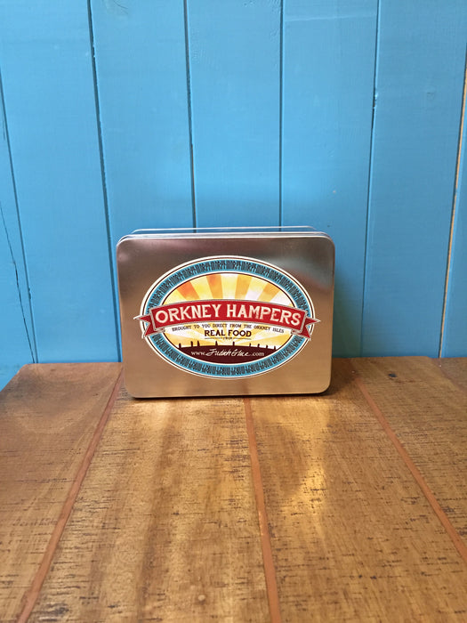 Orkney Hampers Rectangle Tin £8.99
