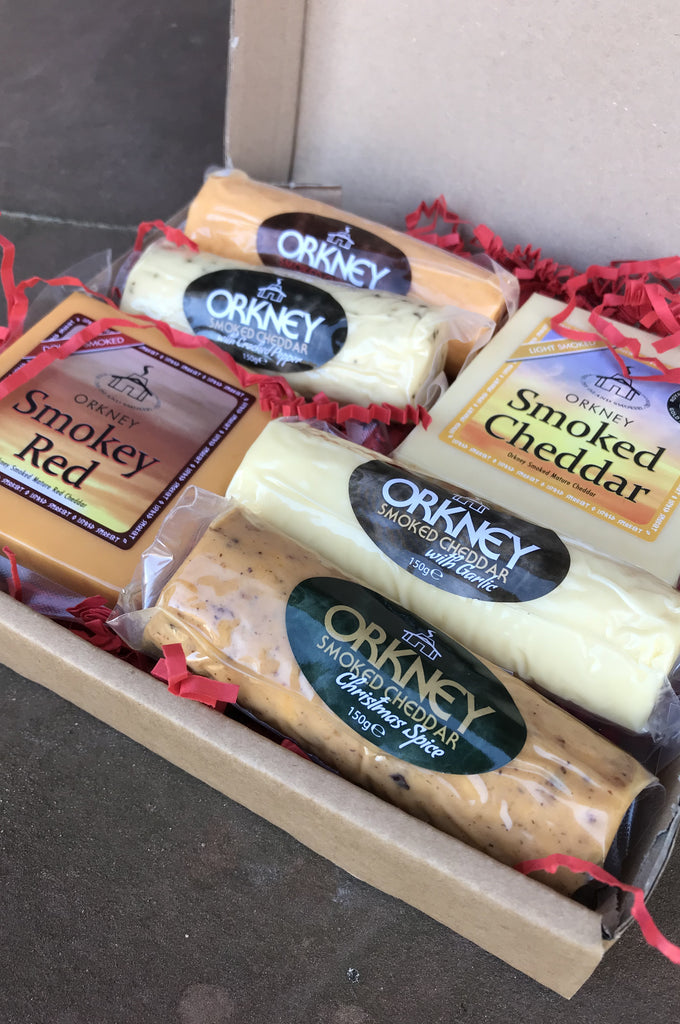 BRAND NEW -Island Smokery Xmas Cheese Box £22.95