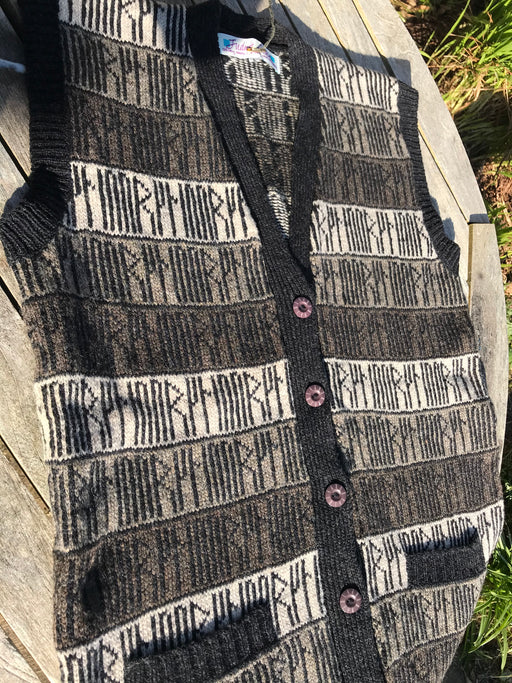 15% OFF Runic Waistcoat in Slate WAS £129.95 NOW £109.95