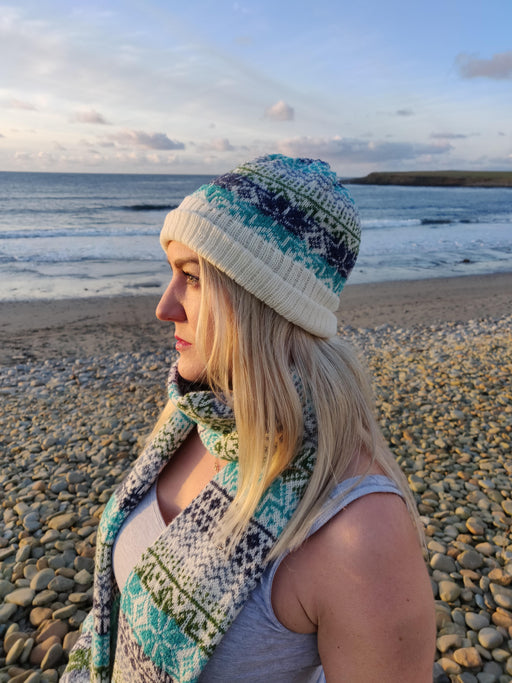 Annie Glue Sea Blue Fair Hat £34.95