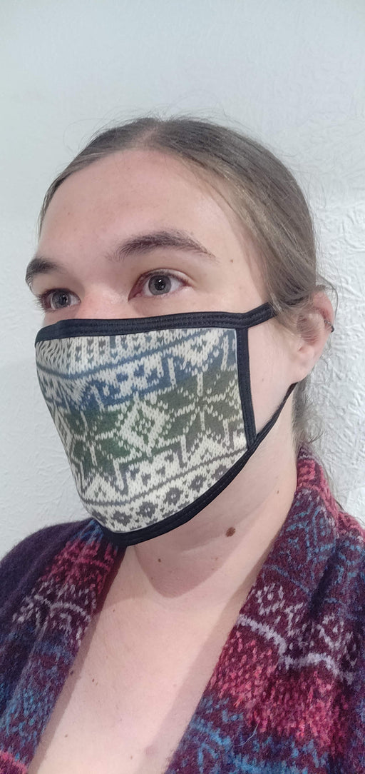 Orkney North Star Fairisle Face Mask £8.95