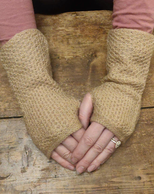 15% OFF Annie Glue Textured Hand Warmers in Caramel WAS £19.95 NOW £17.00