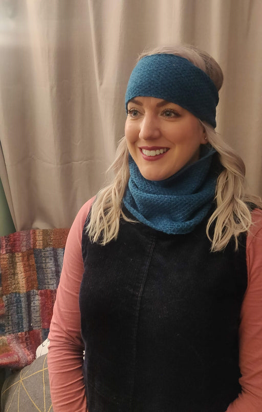 15% OFF Annie Glue Textured Snood in Atlantic Spray WAS £29.95 NOW £25.50