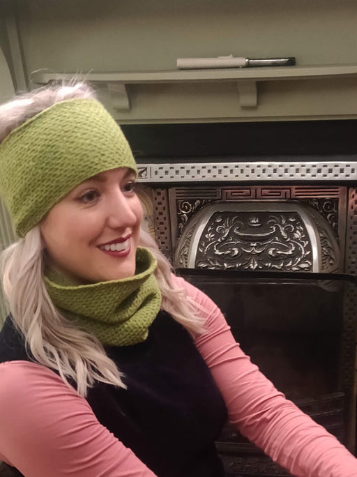 15% OFF Annie Glue Textured Headband in Lime WAS £19.95 NOW £17.00