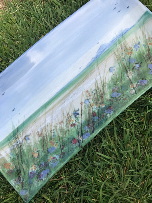Highland Stoneware Machair Grass One Off Rectangle Plate £99.95