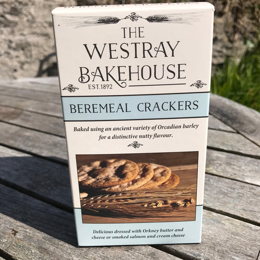 Westray Bakehouse Beremeal Crackers £3.95