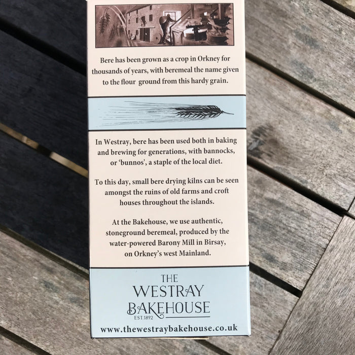 Westray Bakehouse Beremeal Crackers