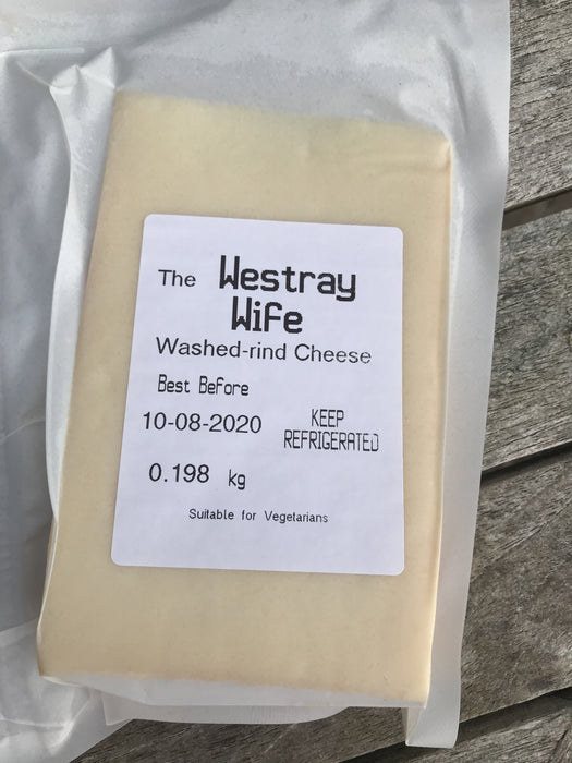 Westray Wife Washed Rind Cheese £5.95