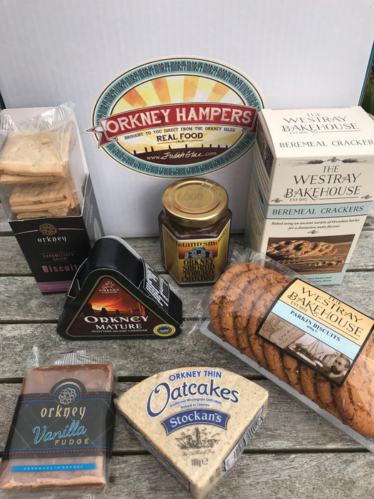 Orkney Produce Taster Box £45.00 Code 42
