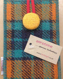 Bertie Girl Harris Tweed 'Aye-phone' cover £24.95