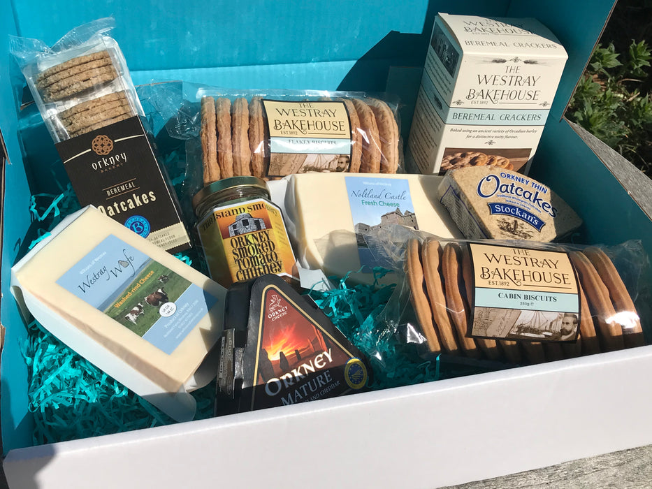 Orkney Cheeseboard with Chutney Box