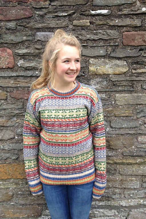 15% OFF Rackwick Fair Isle Crewneck Sweater WAS £149.95 NOW £128.95
