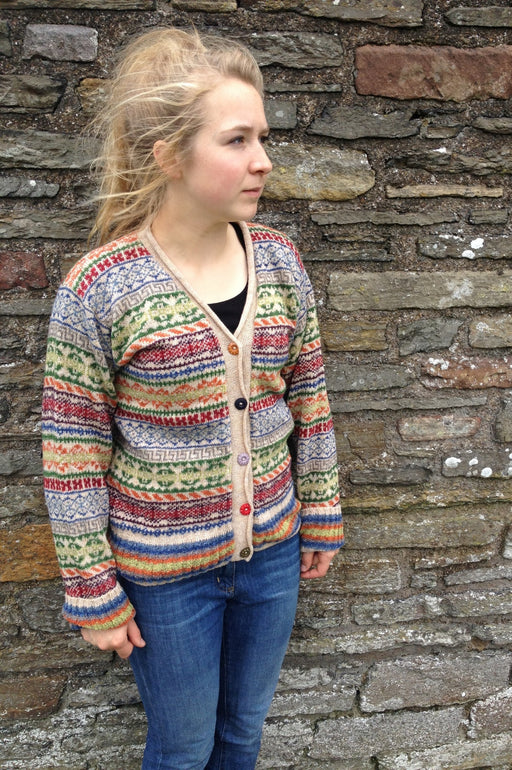 15% OFF Rackwick Fair Isle Short Jacket WAS £149.95 NOW £128.95