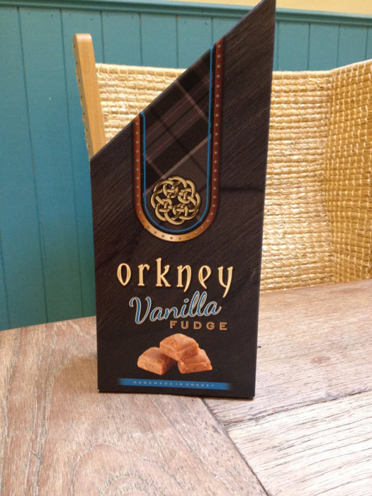 Orkney Vanilla Fudge Pieces in presentation box £4.50