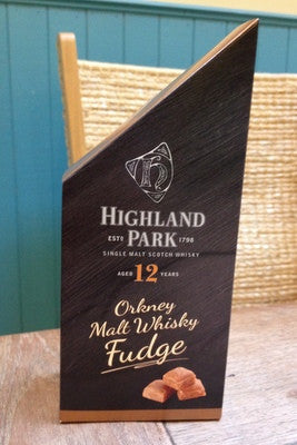Orkney Highland Park Malt Whisky Fudge Pieces £3.95